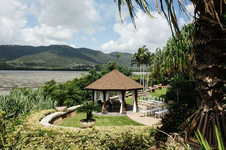 Ceremony Pavilion at Villa Botanica.  Image by Playback Studios.