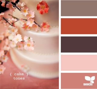 cake tones by design seedsCherries Blossoms, Colors Combos, Design Seeds, Pretty Pink, Pretty Colors, Cake Tone, Colors Palettes, Colors Schemes, Colours Palettes