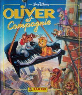 Oliver and Company Disney Panini Storybook Sticker Album