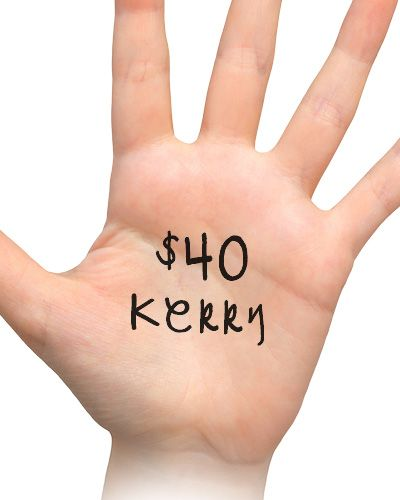 $40 support from Kerry