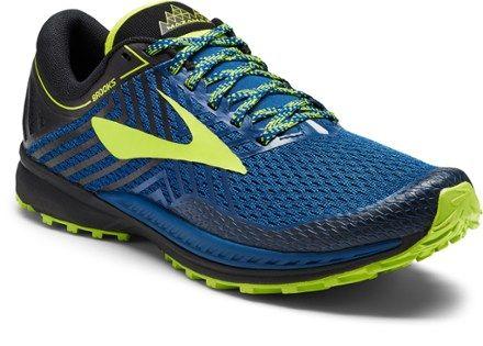 ca6fdbe896d Brooks Men s Mazama 2 Trail-Running Shoes Blue Black 11.5