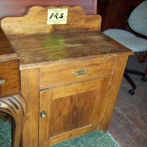 Antique Wash Stand   Frontier Sales, $125