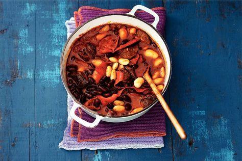 19 februari - Riblappen in de bonus - Geduld wordt beloond: waanzinnig veel lekkere smaken in 1 pan - Recept Stoere chili - Allerhande