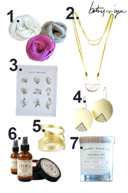 Our b+i Fall Gift Guide!  Buy any 2+ of the picks and get a sweet discount!