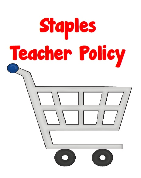 Staples, school supplies, back to school sales, new policyTeachers Friends, Teachers Policy, Schools Ideas, Schools Supplies, Schools Sales, Schools Stuff, Staple, Helpful Teachers, Schools Shops