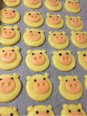 可愛い♡子ブタクッキー