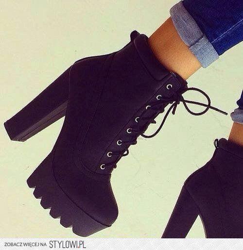 black timberland heels