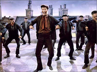 to dance on the rooftop with the chimney sweep gang