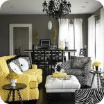 decorating with yellow and gray 4