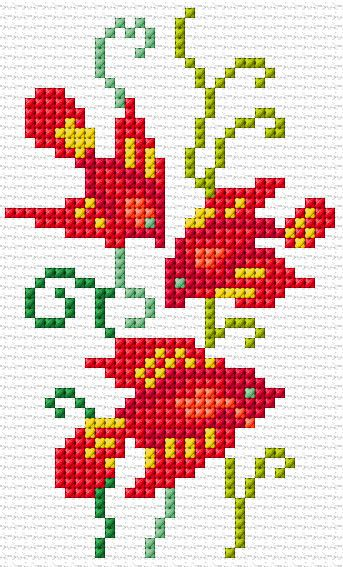 Cross Stitch | Fish xstitch Chart | Design