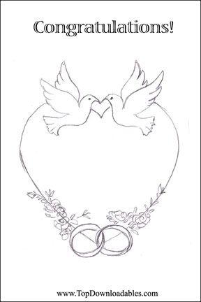 114 best DIY Free Wedding Printable Templates images on Pinterest - engagement invitation templates free printable