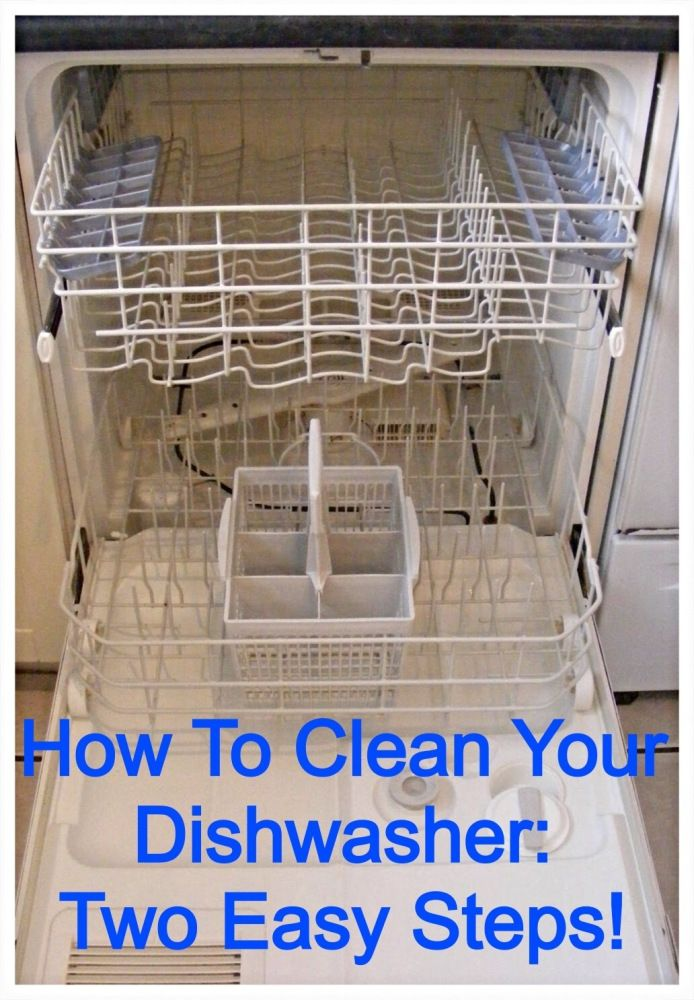 How to Clean Your Dishwasher!  I like that this version doesn't use bleach.