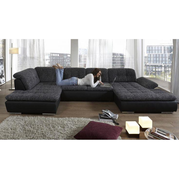 8 best wohnlandschaft images on pinterest sofa couches for Wohnlandschaft 7411 top