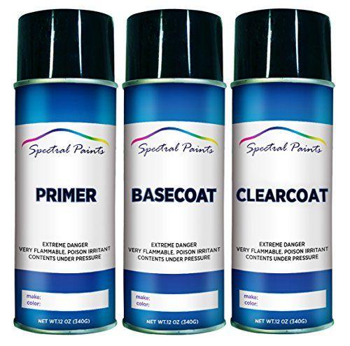 Spectral Paints - Honda YR545M Desert Rock Metallic 12 oz. Aerosol Primer Spray Paint and Clear Coat - Touchup Paint Supplies