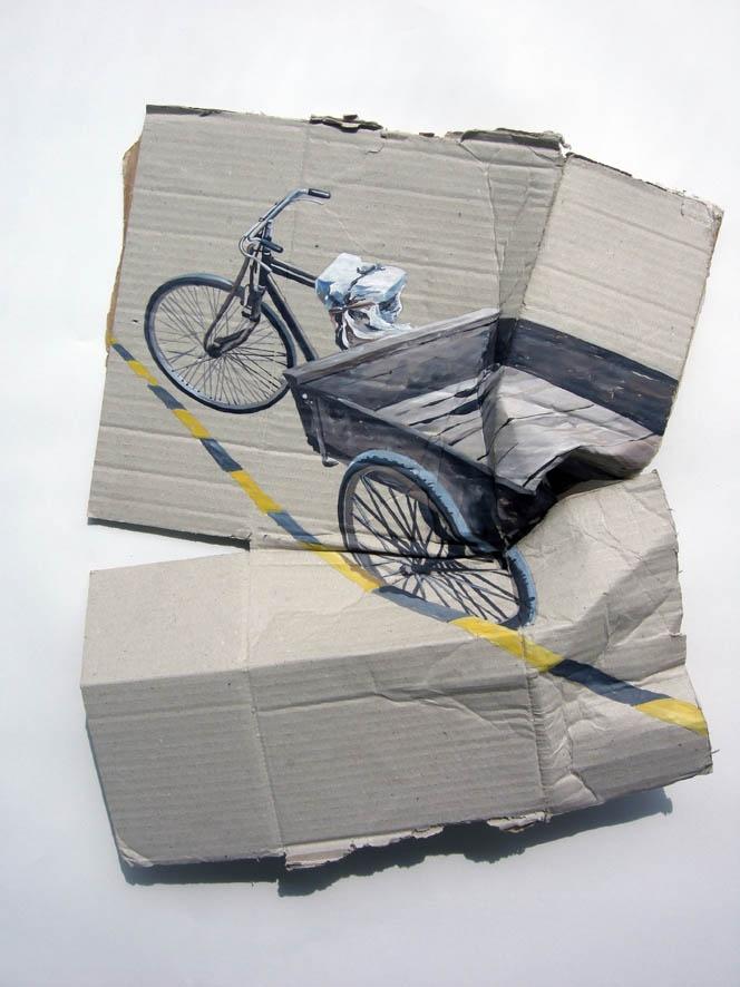 Gustavo Villegas  |  Painting  |  2011  |  Oil on Cardboard  |  www.gustavovillegas.com