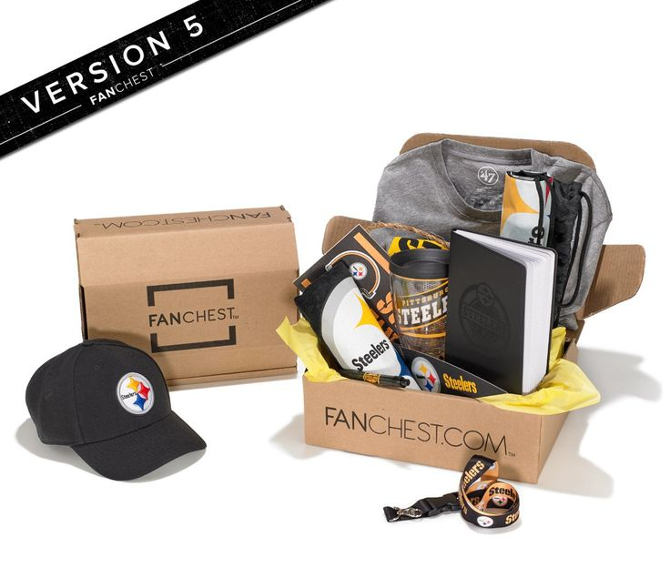 Pittsburgh Steelers Gift Box | Version 5 FANCHEST | Steelers Gear