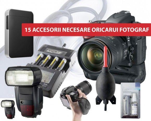 Accesorii foto necesare oricarui fotograf