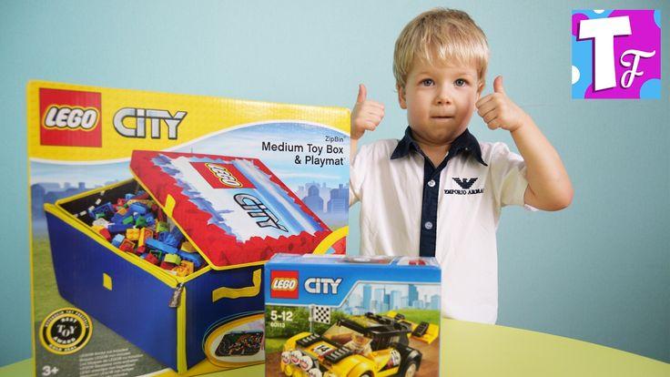 ЛЕГО СИТИ Гоночный автомобиль 60113 Сборка машин LEGO CITY Car racing #И...