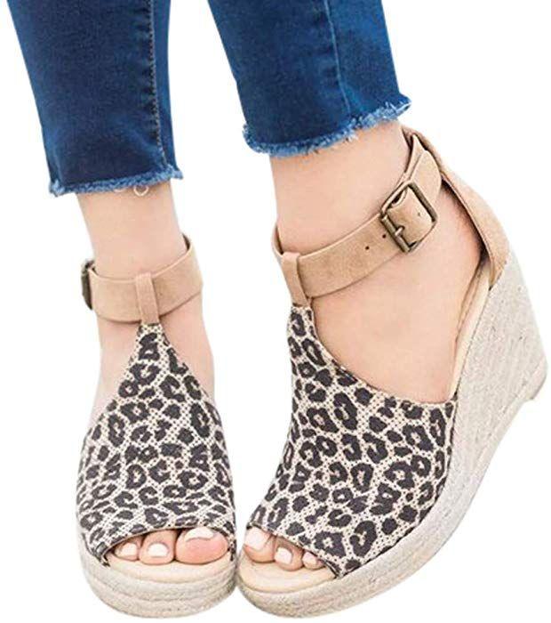 c86d9e797d309 Amazon.com: Duseedik Summer Women's Sandals Wedge High Platform ...