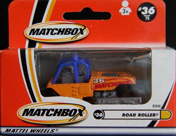 Model Matchbox Road Roller