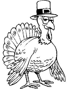 144 best Coloring pages Thanksgiving images on Pinterest