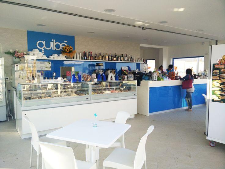Abbiamo curato l'arredamento della Gelateria QUIBE' Porto San Giorgio