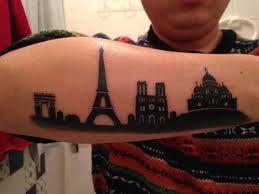 paris city tattoo
