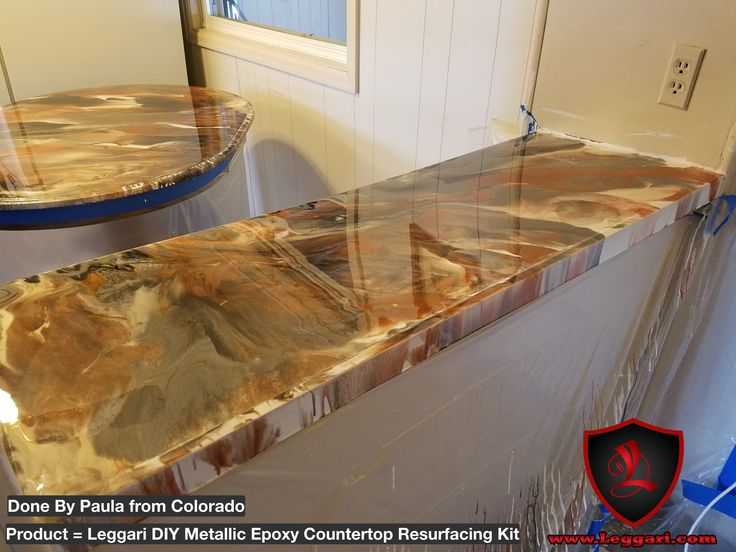 Metallic Countertop Paint : 309 best images about Leggari Products DIY Metallic Epoxy Countertop ...