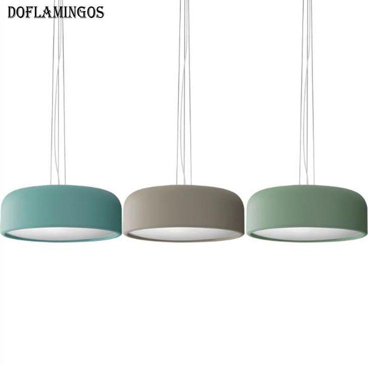 Cheap nuevo estilo nórdico de cuatro colores de color de luz colgante de 200 cm de alambre e27 3 hierro decoración de interior colgando de la lámpara para