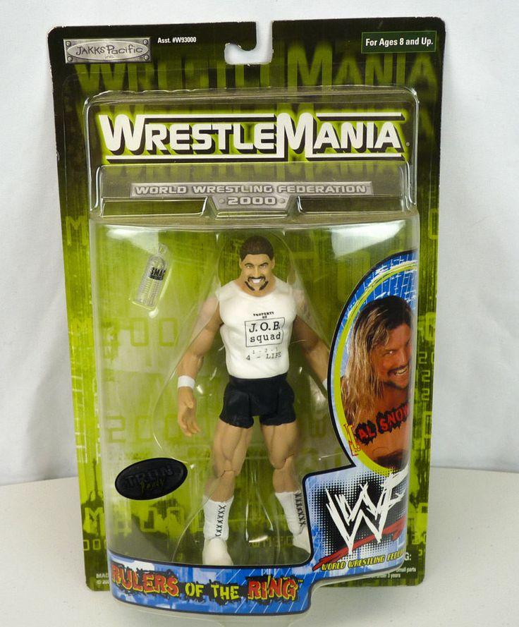 AL SNOW WrestleMania 2000 Action Figure WWF WWE Rulers of the Ring NEW Wrestling #JAKKSPacific