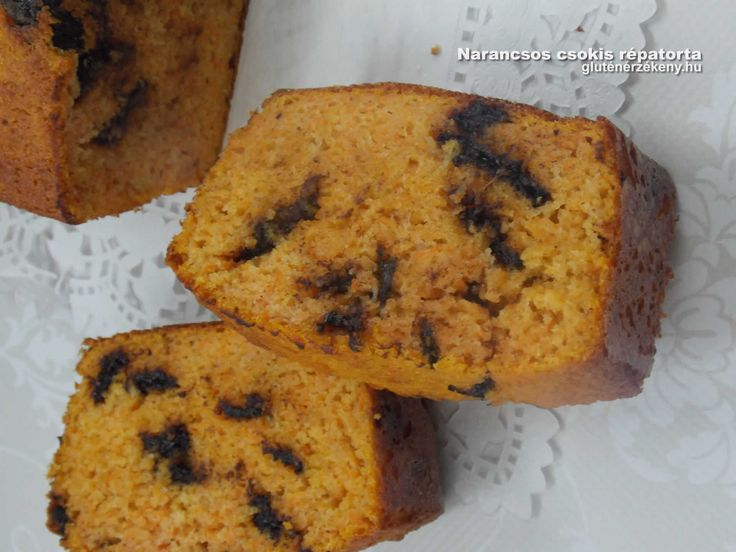 Narancsos csokis gluténmentes répatorta - édesítőszerrel, tejmentesen