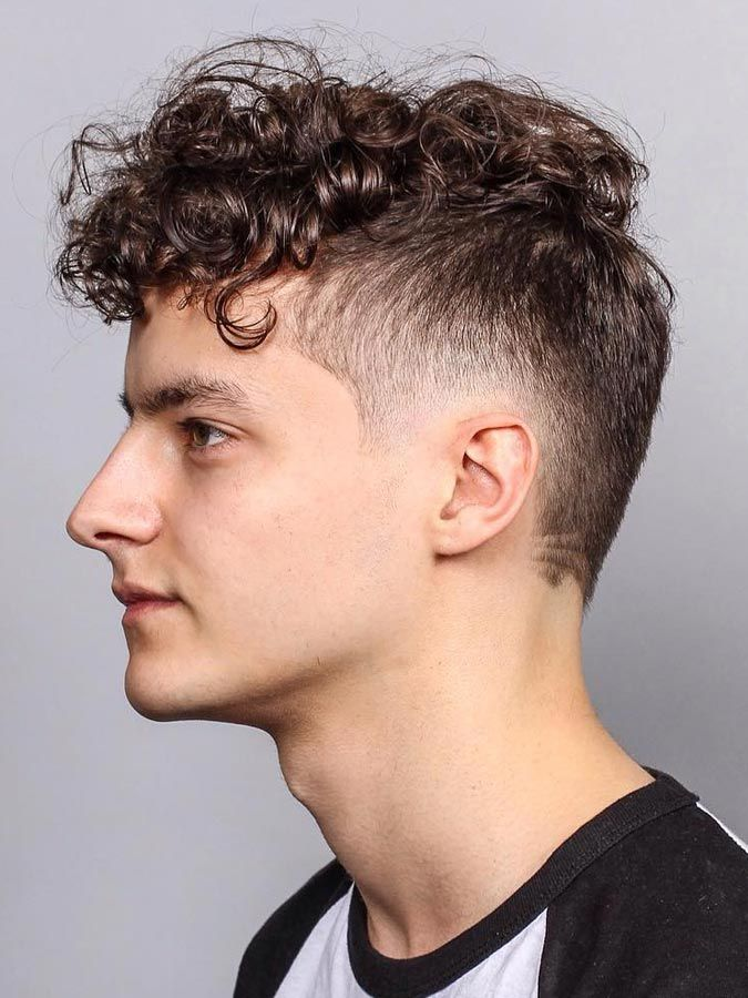 Curly Fringe Fade Long Hairstyles Ideas In 2019 Hair Styles