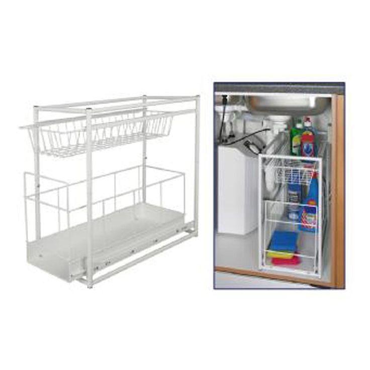 17 mejores ideas sobre debajo del fregadero en pinterest - Accesorios para armarios de cocina ...