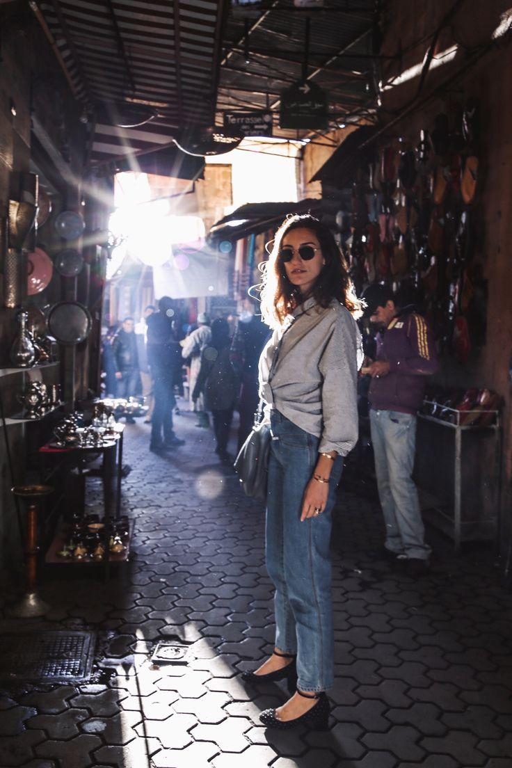 La Revue de Kenza / Kenza Sadoun el Glaoui  Lost in Marrakech's Medina