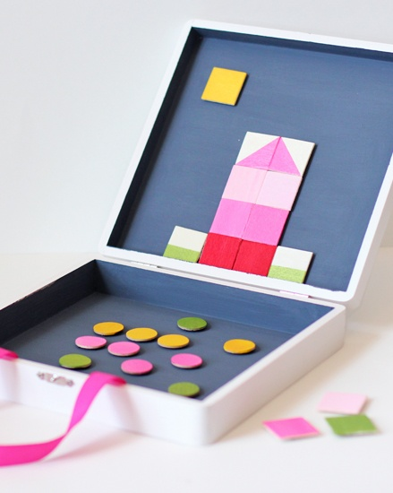 DIY Magnetic Play Board for Kids