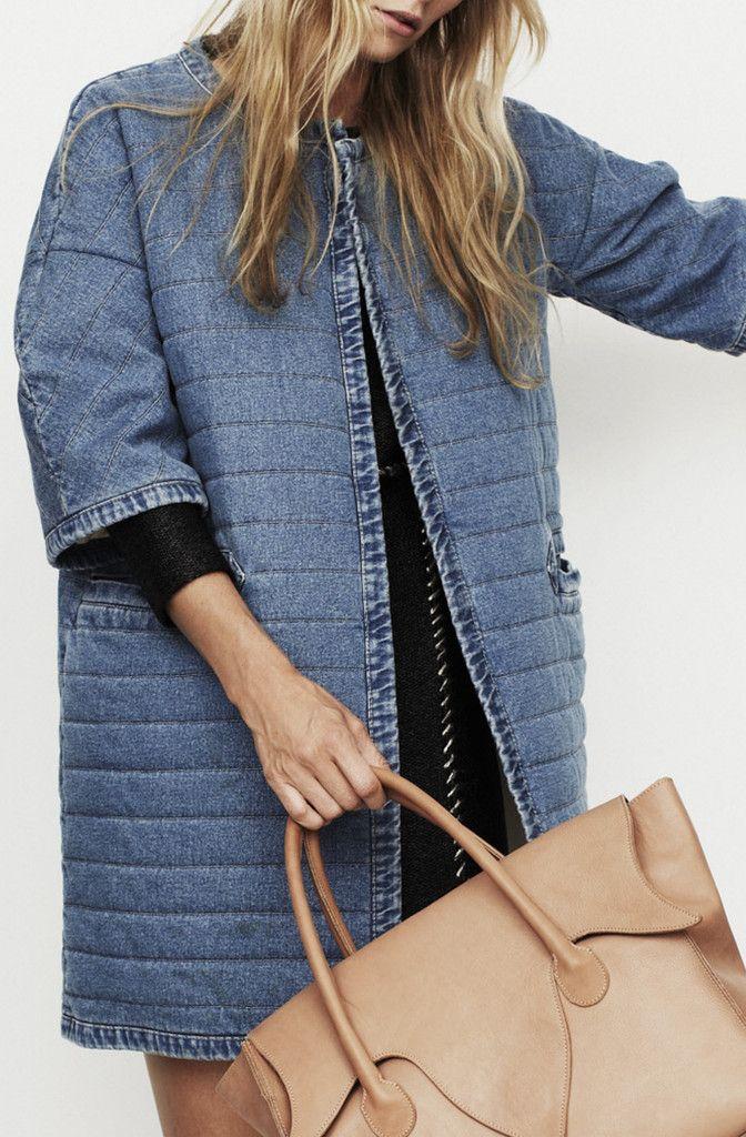 Nanushka - LOLLO - Quilt coat, maybe make the sleeves longer?