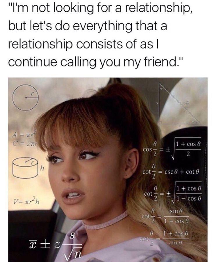 Elegant Ariana Grande Math Meme