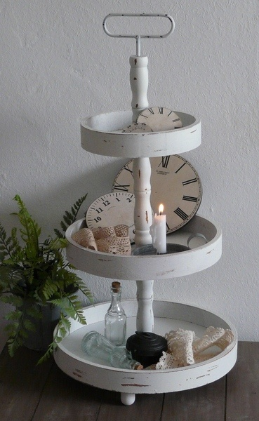 9 best images about Etagere on Pinterest  Deko, Home and Shabby chic cakes