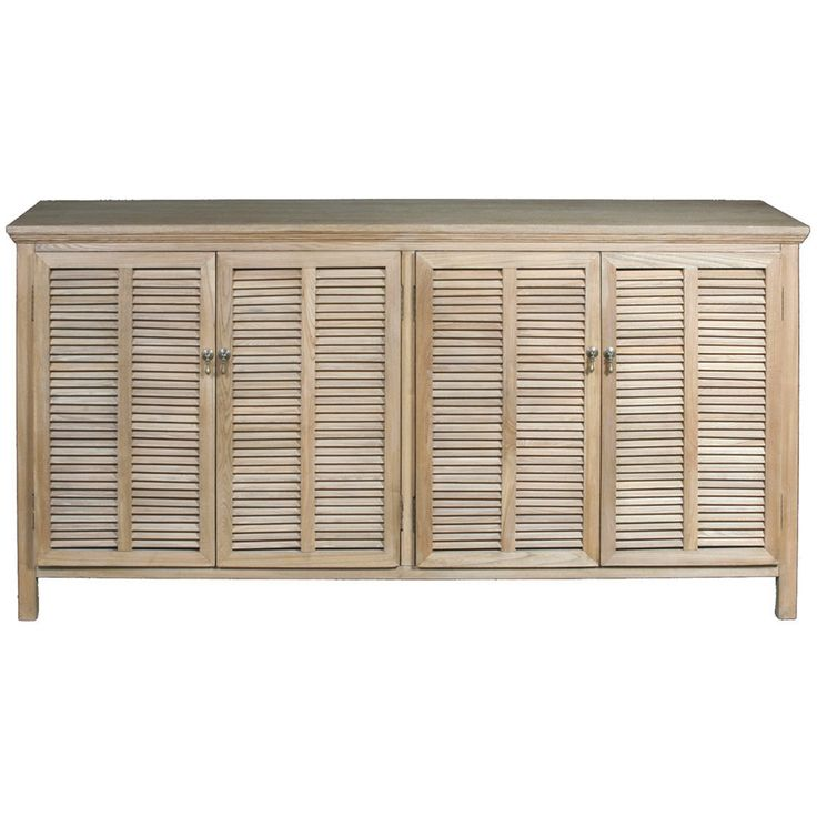 Louvre 4 Door Buffet Elm 175x51x90