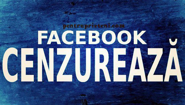 Facebook cenzureaza, Linux Pentru Prieteni, pentruprieteni.com