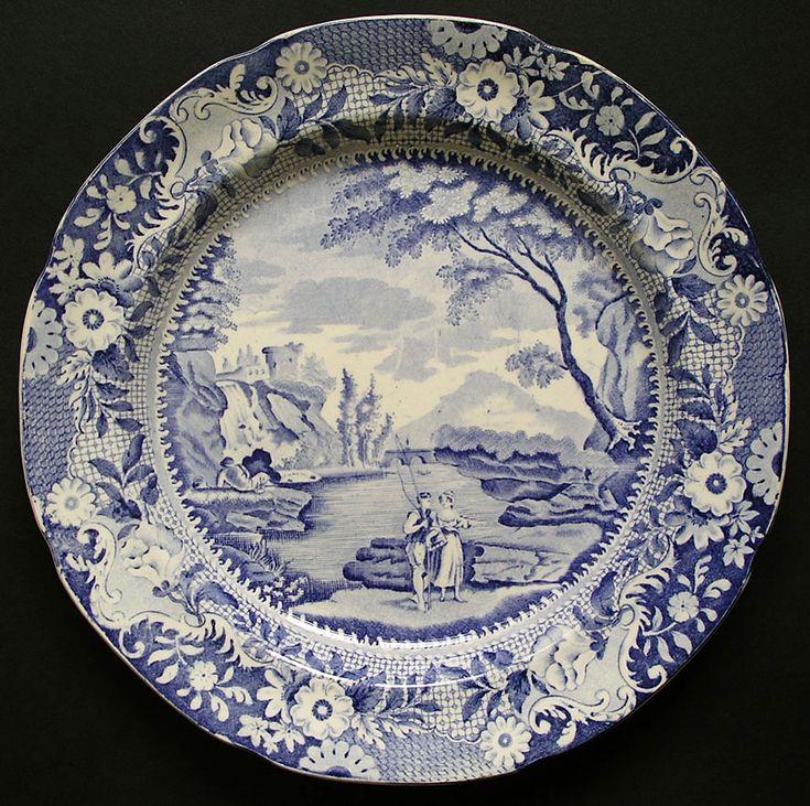 Blue And White Pottery Loza Y Porcelana Antiguas