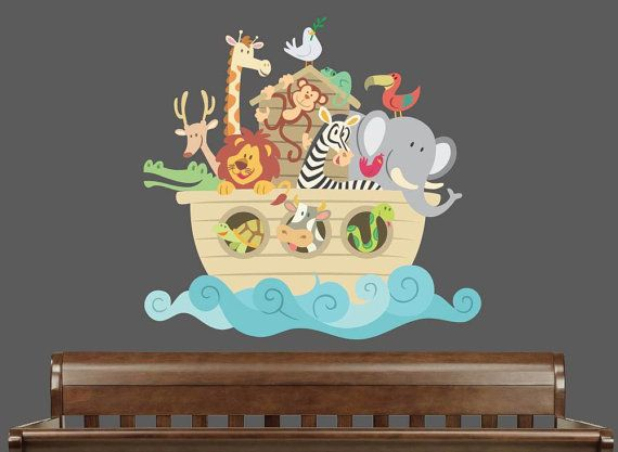 21 Best Images About Noah 39 S Ark On Pinterest Nursery Decals Wall Decor Stickers And Murals