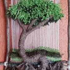 Resultado de imagen para como armar un telar con un marco de madera
