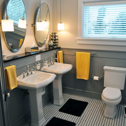 Same footprint, different DIY decor makes for a more welcoming bath in this 2013 Reader Remodel Contest entry.| thisoldhouse.com/yourTOH