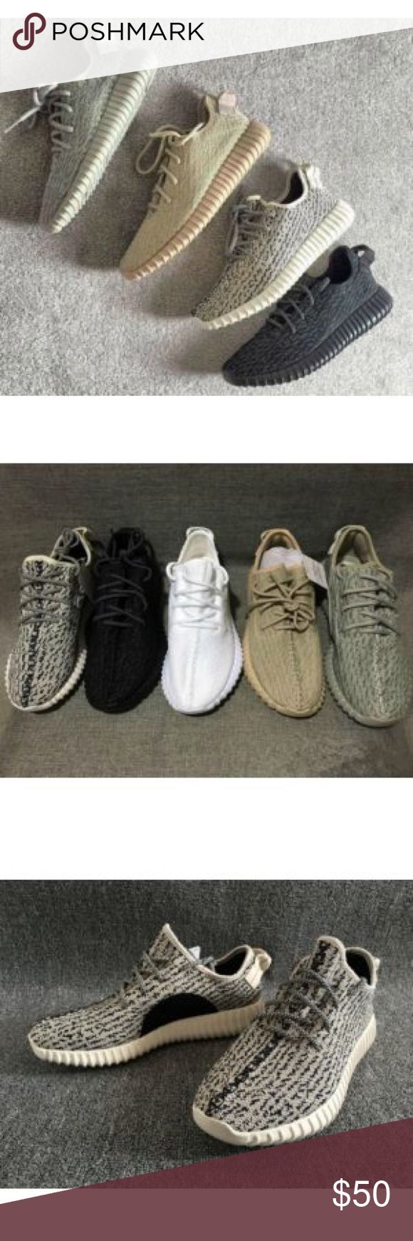 Adidas Yeezy Boost 350 I have these in all color ways and sizes 5-13US,These are My lower quality replicas if you want better quality it's gonna cost more, I'm taking payments via Paypaal ONLY, DONT PURCHASE VIA POSHMARK. Text me if you're interested 619-468-7974 ignore tags supreme bape ftp palace gucci yeezy vlone golf Yeezy Shoes