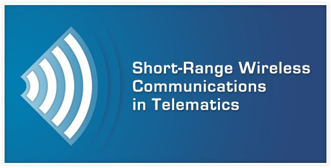 Short range wireless communication in #telematics #WiFi #Bluetooth #NFC
