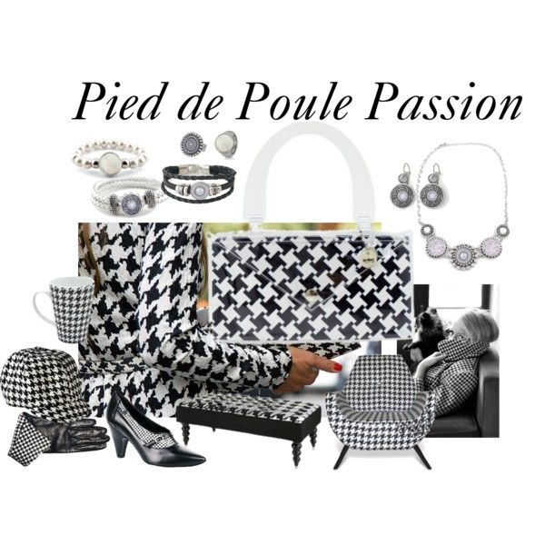 Pied de Poule Passion... #blackandwhite #bags #clutch #whishlist #christmasgifguide #jewelry