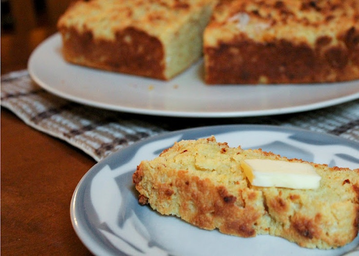 Sour cream corn bread | Breads | Pinterest
