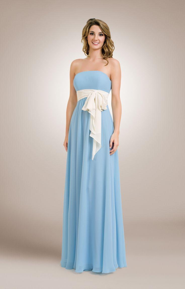 1671 cowl neck long chiffon bridesmaids dress kristin s dress kanali k