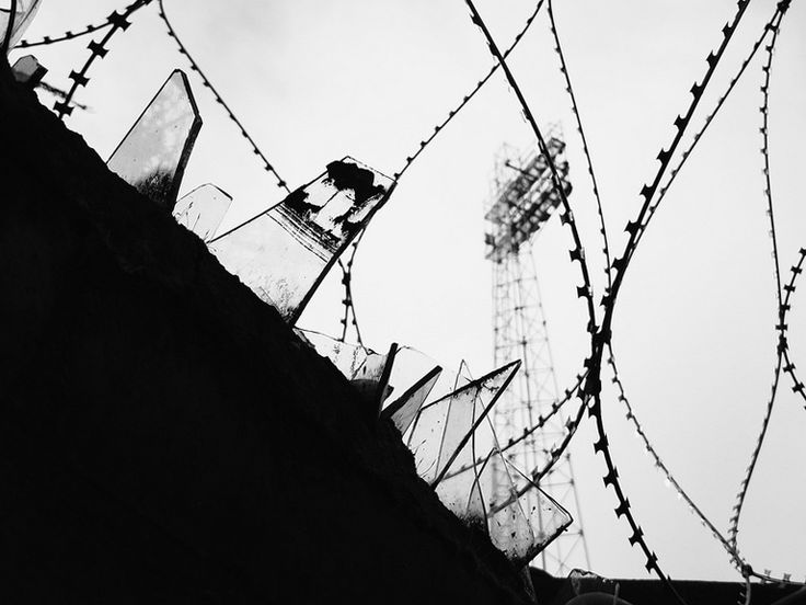 Watching football is not a crime